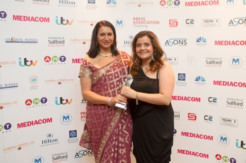 Nina Wadia Awarded Sophiya Haque Services To British Television Honour