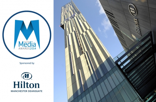 Hilton Honoured To Host Asian Media Awards 2014