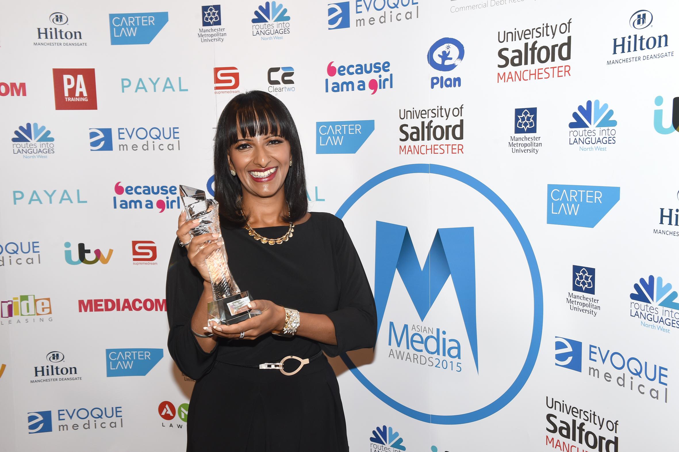 Asian Media Awards 2015 Winners