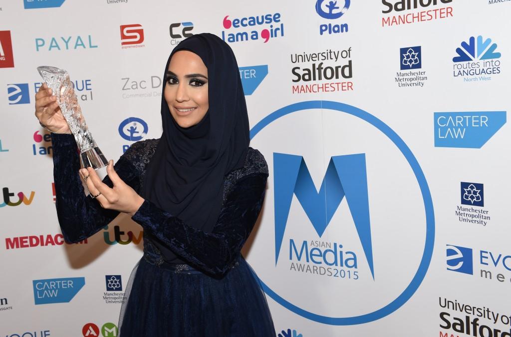 Amena Beauty Wins Best Blog 2015 Category