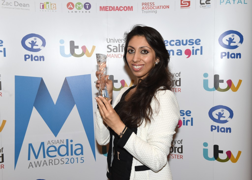 Natasha Mudhar Named Media Professional of the Year