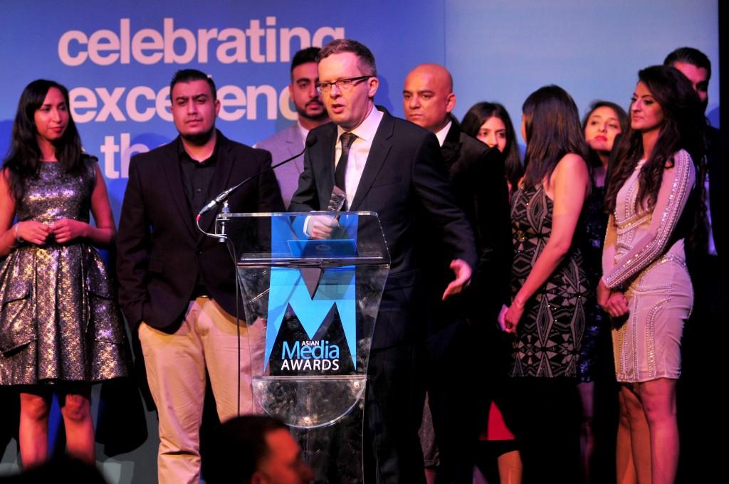 BBC Asian Network Wins Third Radio Station of the Year Award