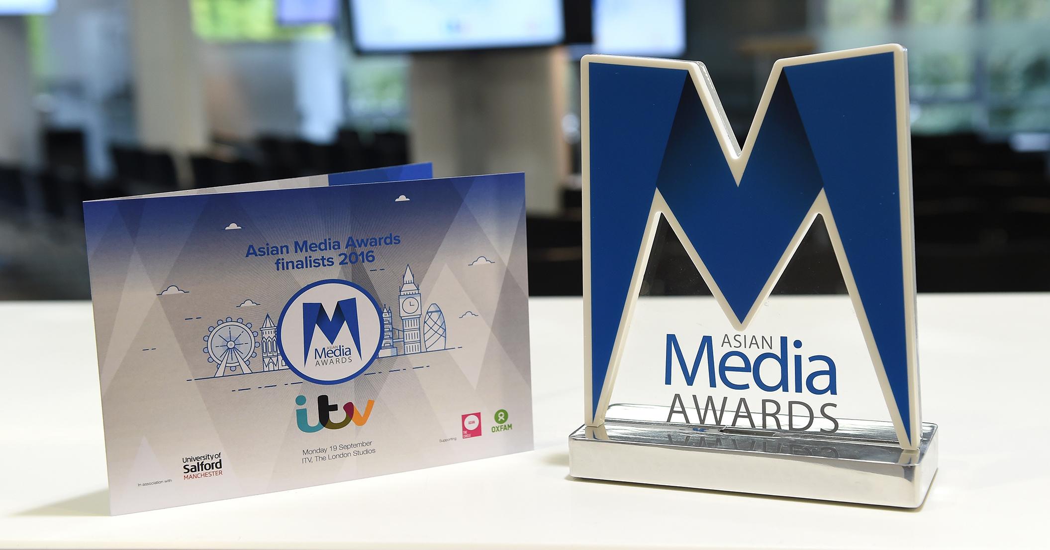 Asian Media Awards 2016 Finalists