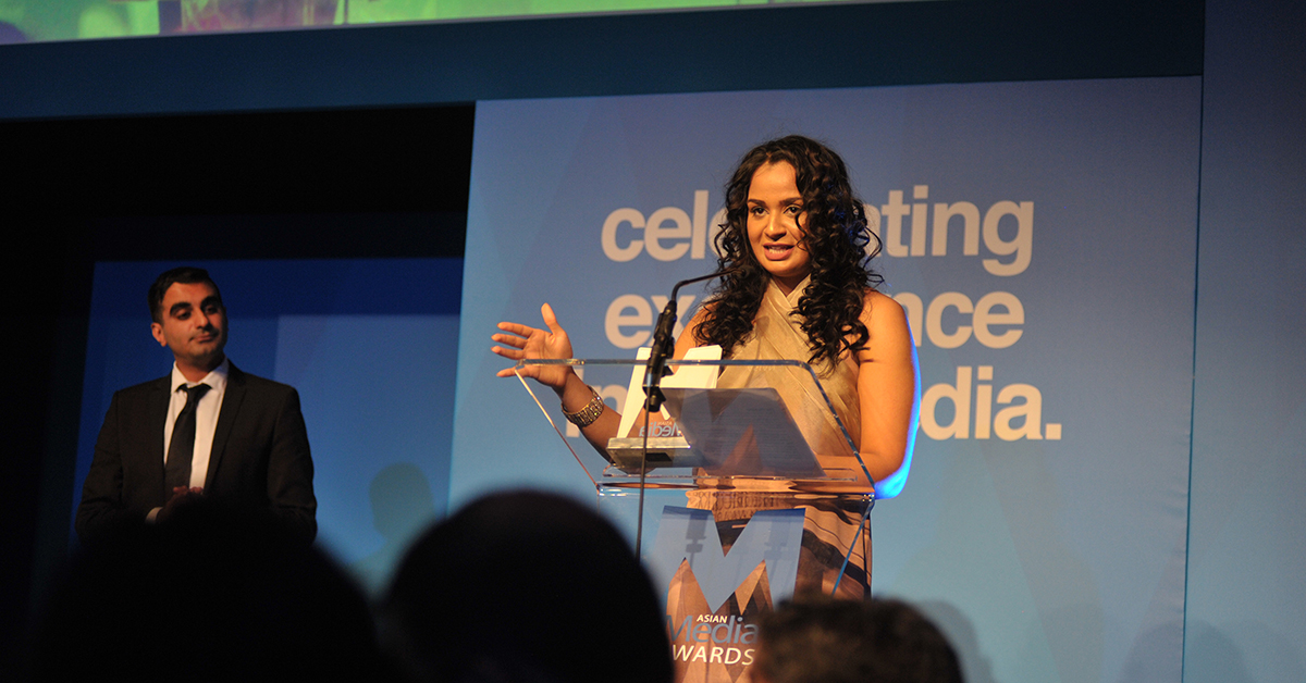 Ambreen Razia Named AMA Best Newcomer 2016