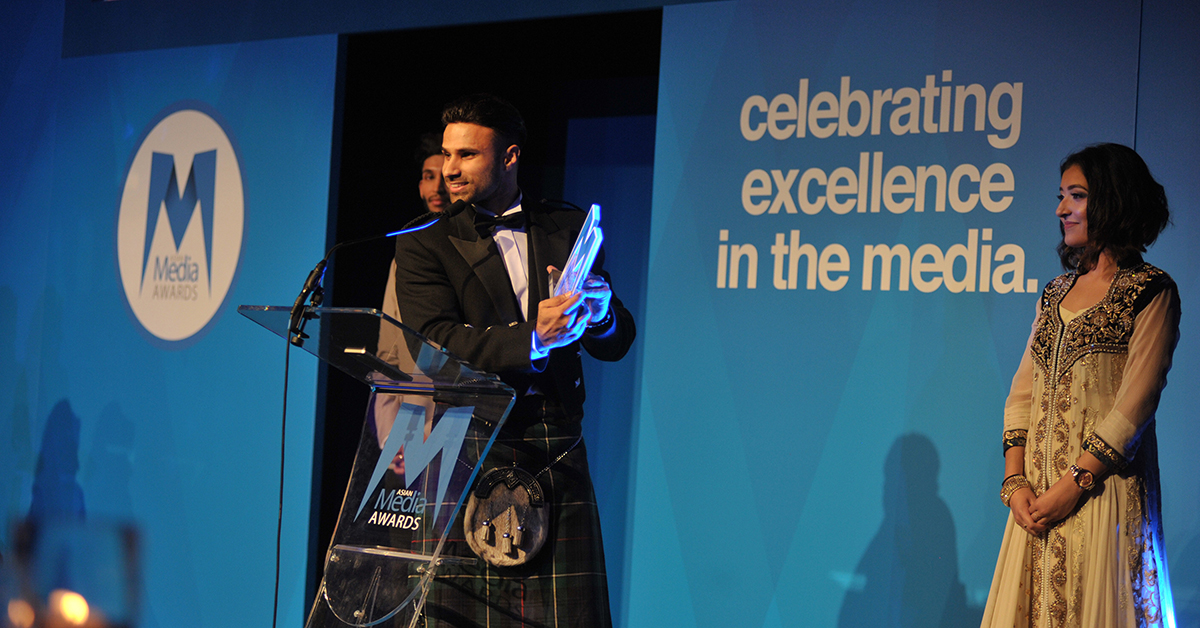 Rahim Pardesi Claims Top Video Channel Honour at AMAs