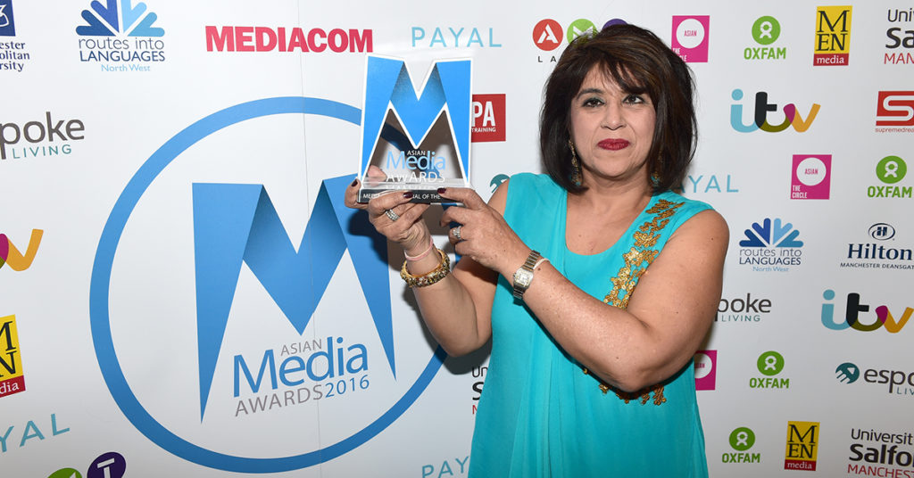 Anjna Raheja Named Media Professional of the Year 2016