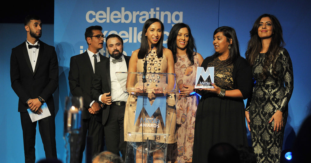BBC Asian Network Live Wins Best Live Event 2016