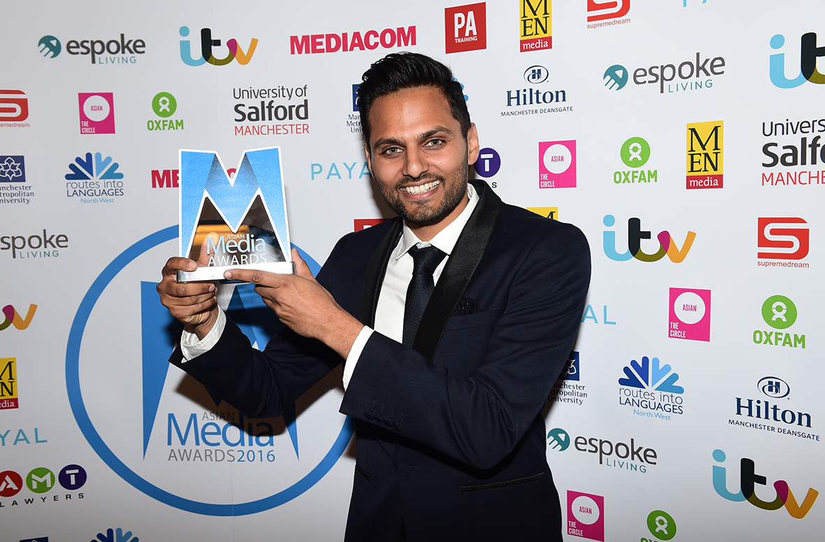 Jay Shetty Wins Espoke Living Best Blog Award 2016
