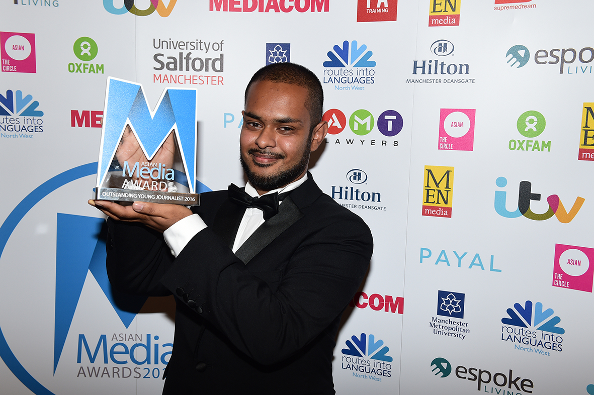 Kaamil Ahmed Wins Outstanding Young Journalist Award 2016