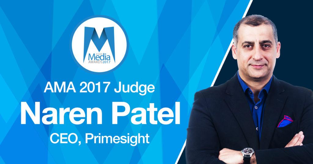 Primesight CEO Joins AMA 2017 Judging Panel