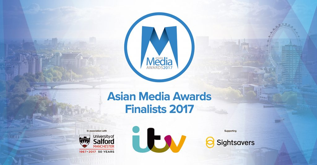 Asian Media Awards 2017 Finalists To Be Announced At ITV