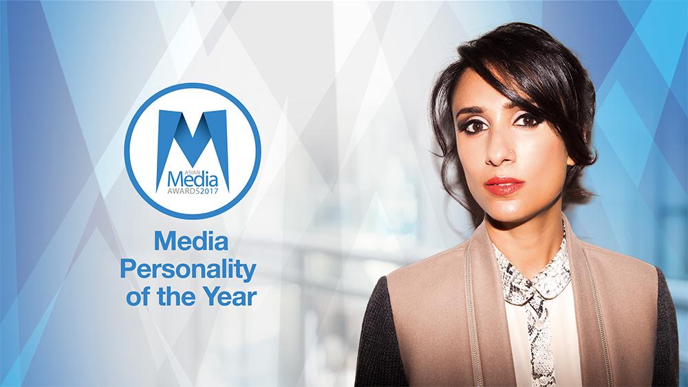 Anita Rani Named Media Personality of the Year 2017