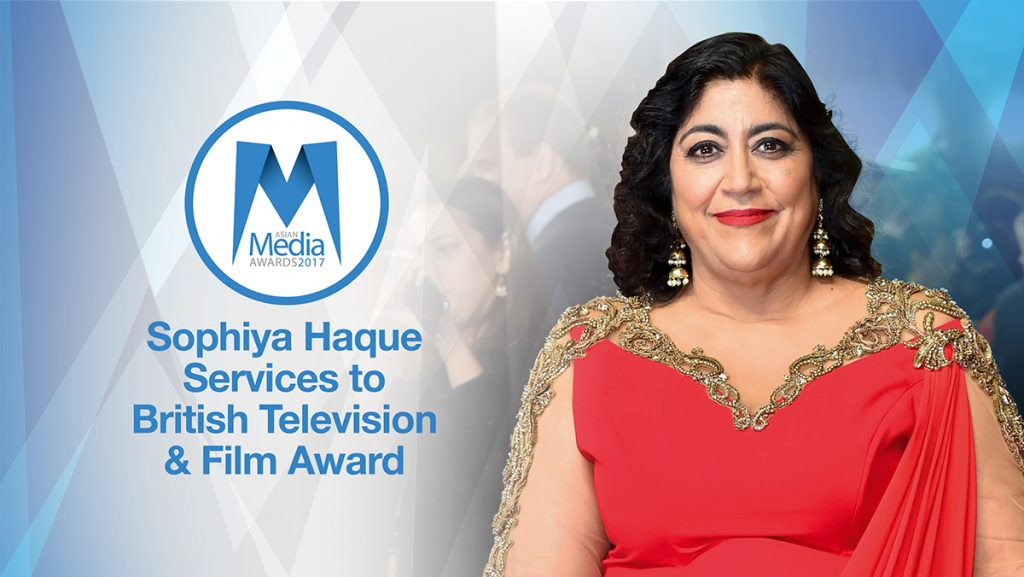 Gurinder Chadha Honoured with Sophiya Haque Services to British Television & Film Award