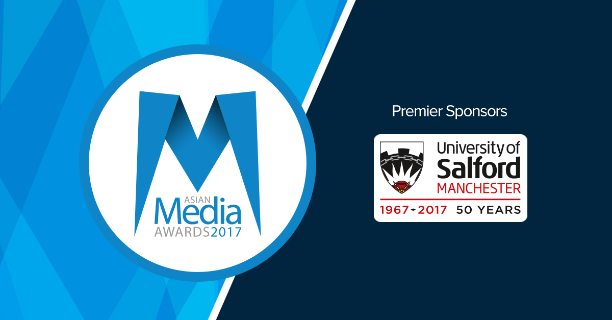 University of Salford are Headline Sponsors at 2017 AMA's