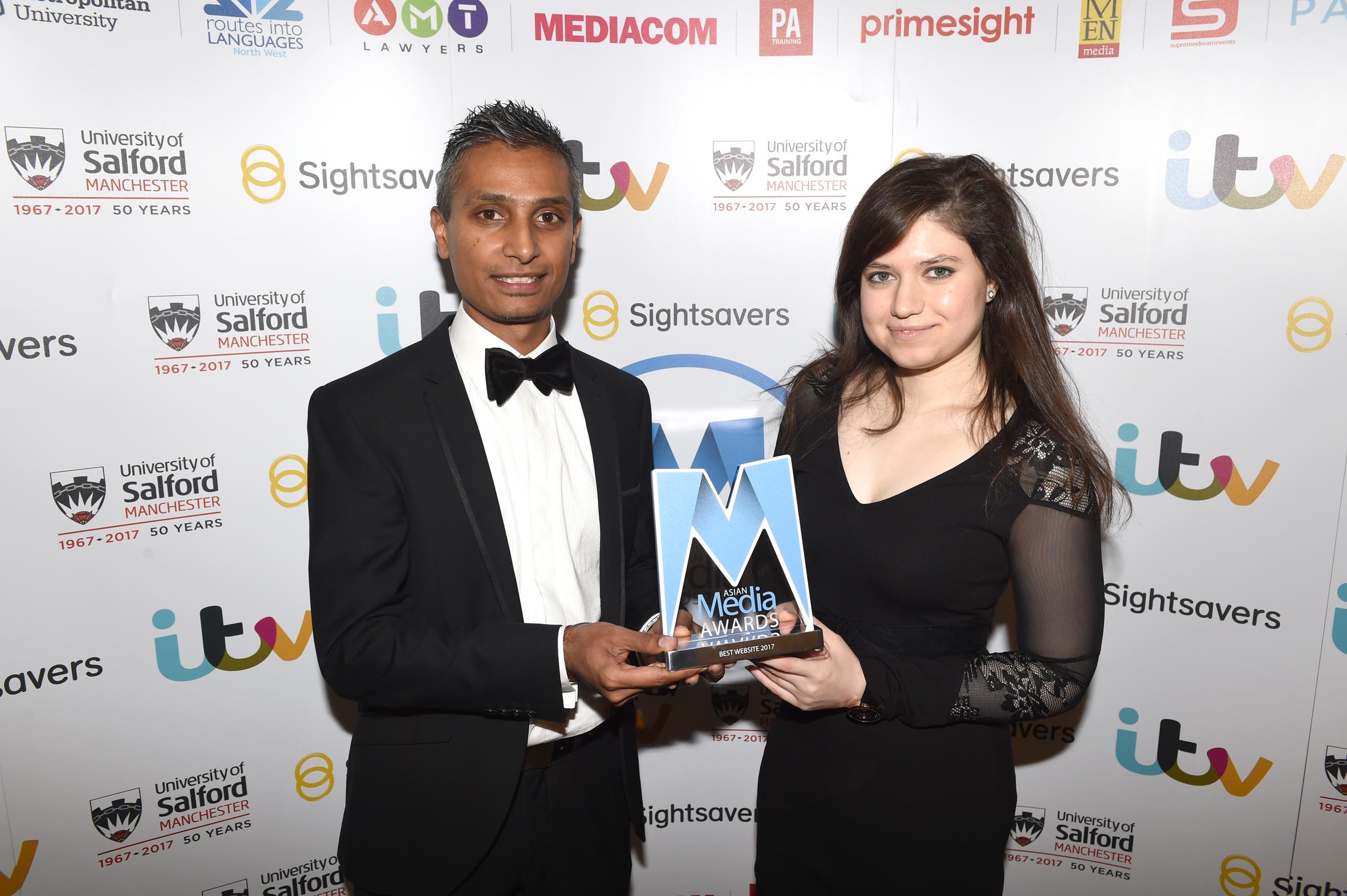 DESI Blitz secures third Best Website Award