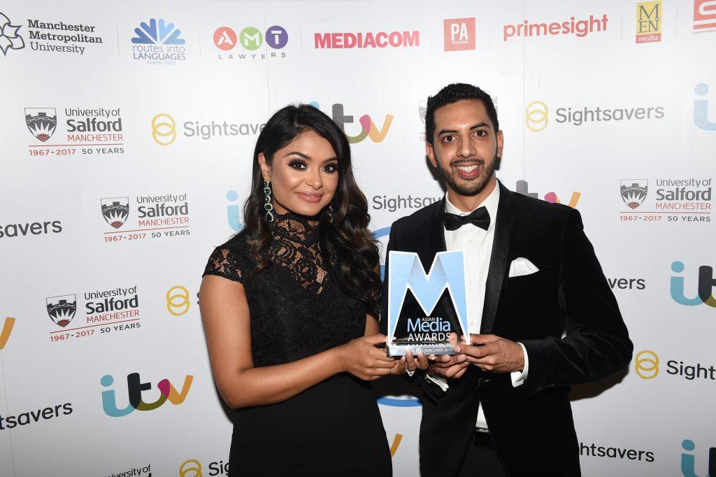 Bhavin Bhatt wins AMA Best Newcomer Award