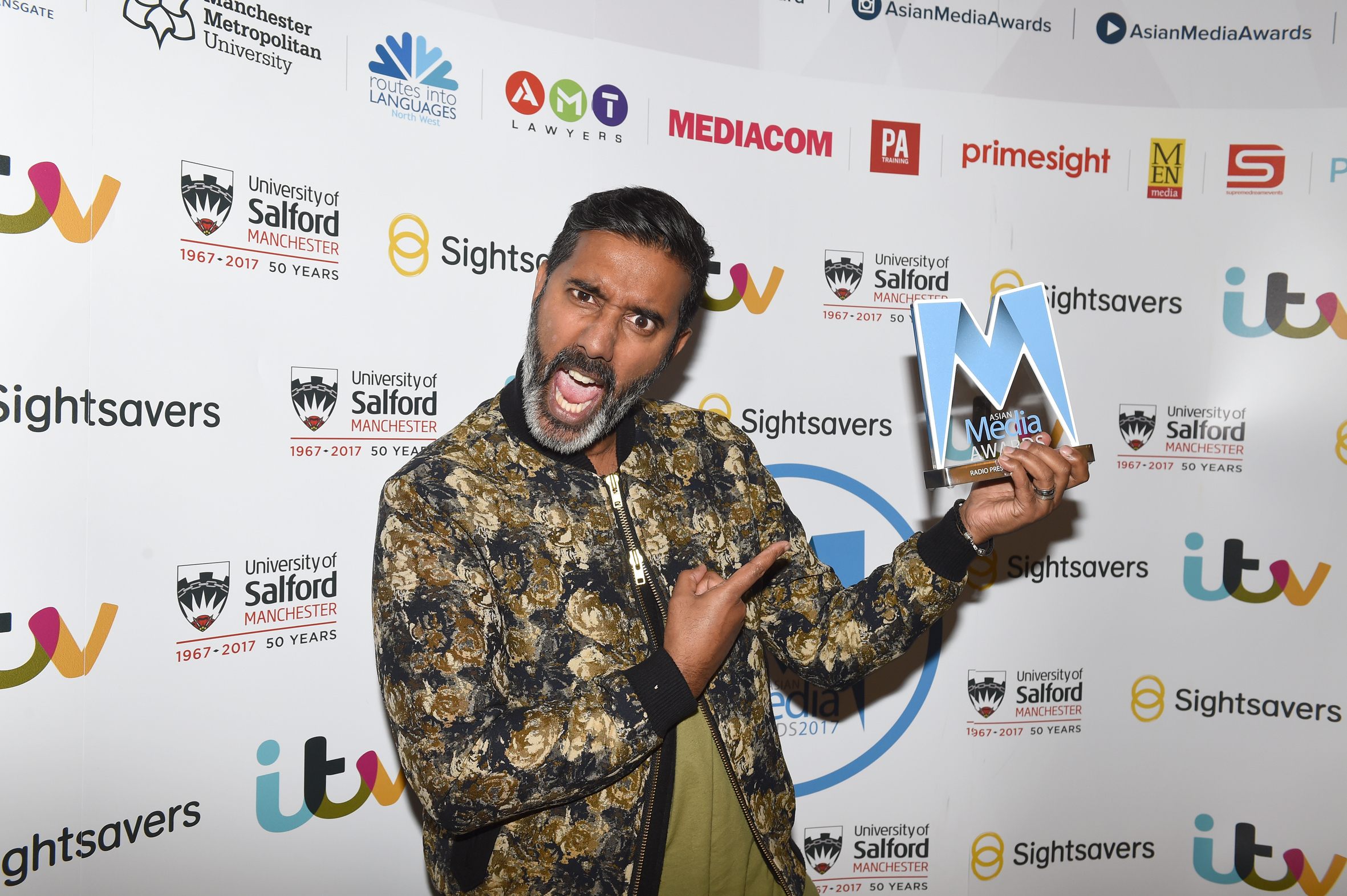 Nihal is Radio Presenter of the Year 2017