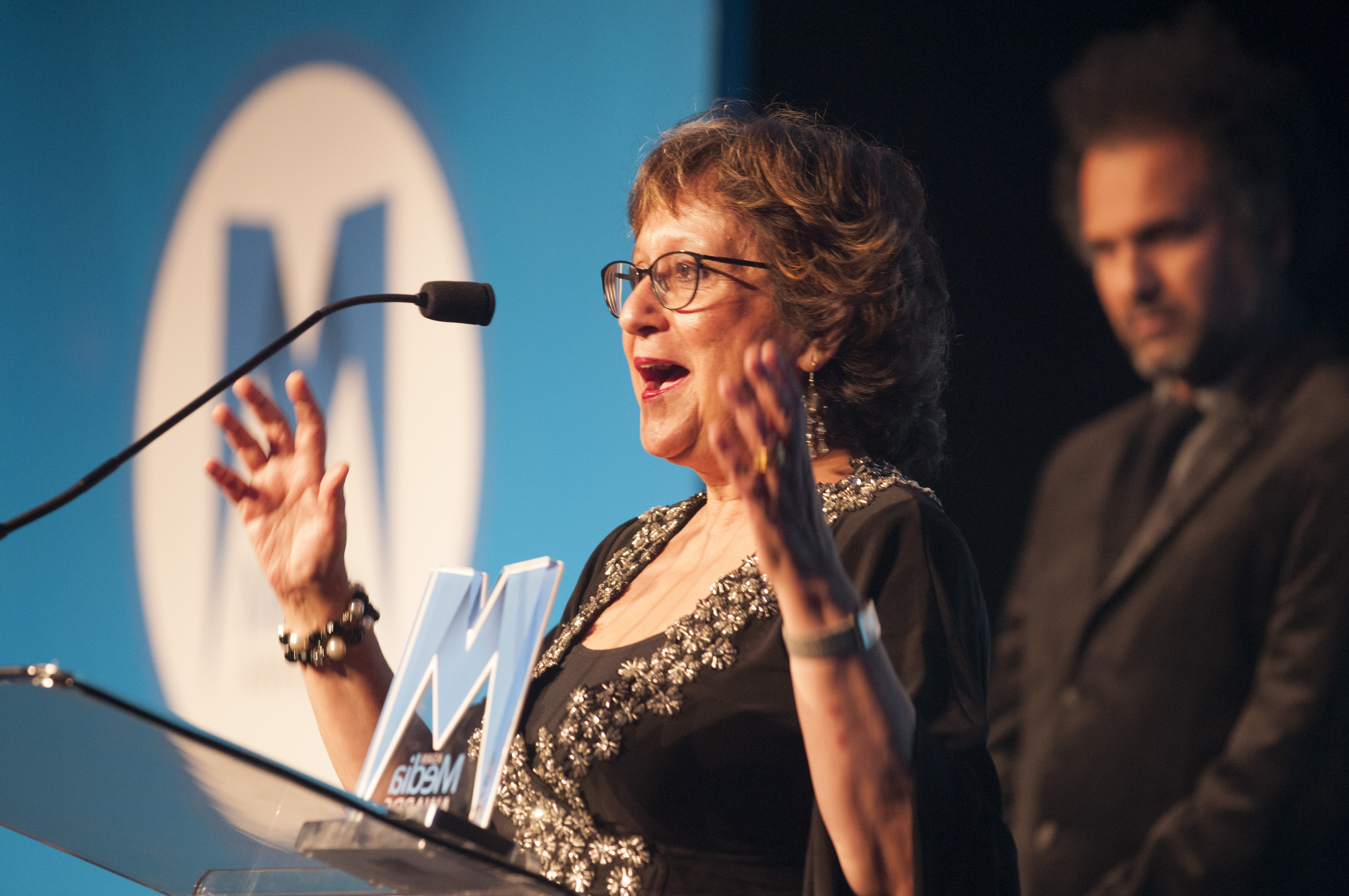 Yasmin Alibhai-Brown presented with Outstanding Contribution to Media Award 2017