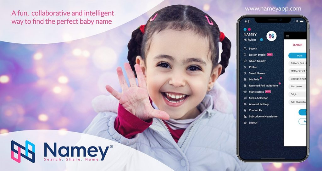 Innovative App 'Namey' Puts A New Twist on Baby Naming