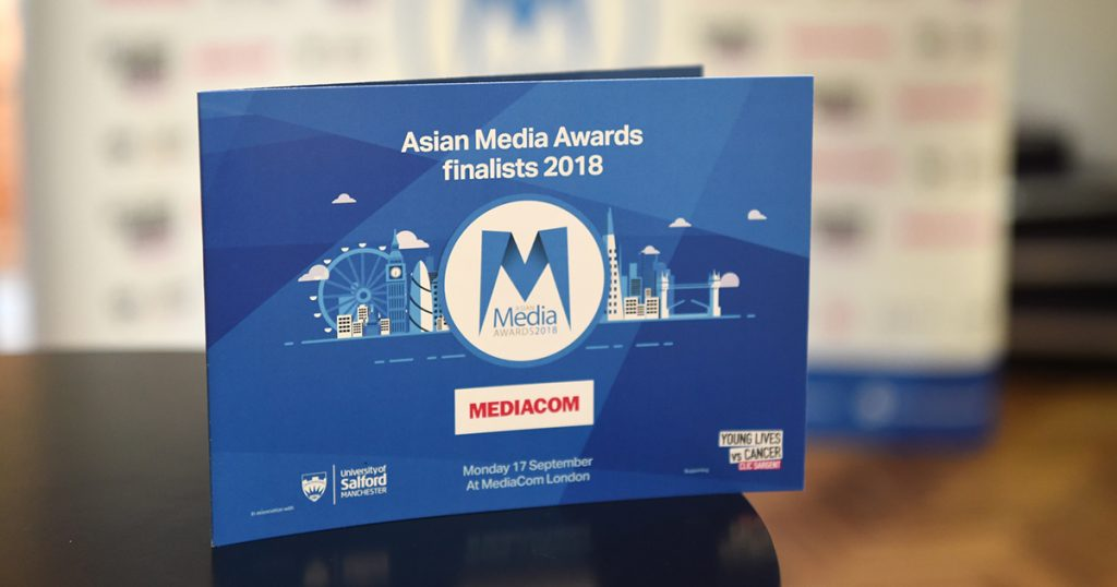 Asian Media Awards 2018 Finalists