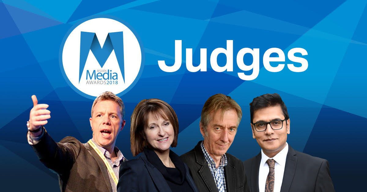 New judges at 2018 Asian Media Awards