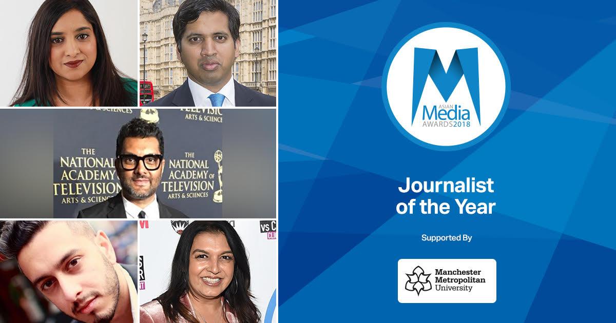 UK's Leading Journalists Feature In 2018 Shortlist