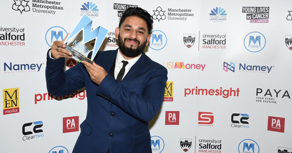 Ali Official Wins Best Video Channel 2018 Award