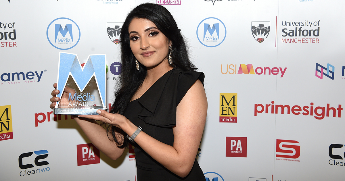 Amani Khan Is 2018 Outstanding Young Journalist