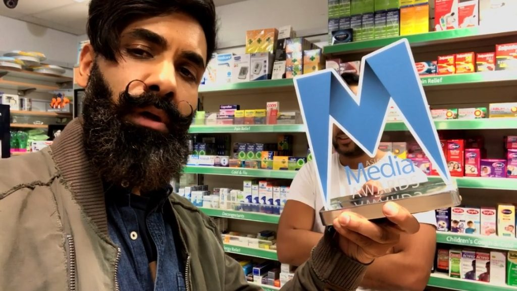 Paul Chowdhry Tour Wins 2018 AMA Best Live Event Award