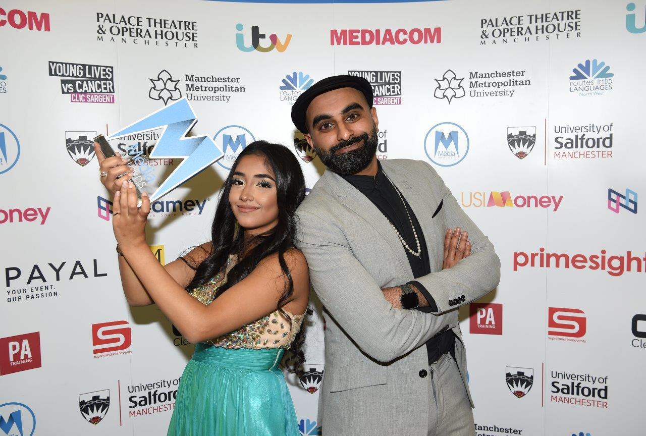 Duaa Karim with Tez Ilyas