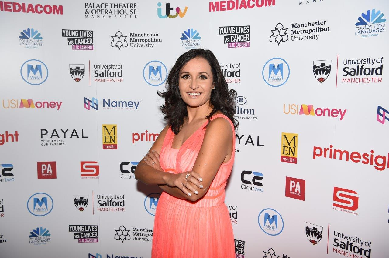 Host Nina Hossain of ITN News at Ten