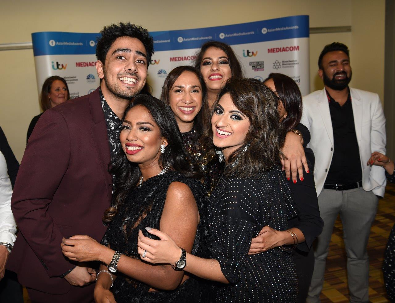 Members of BBC Asian Network celebrate