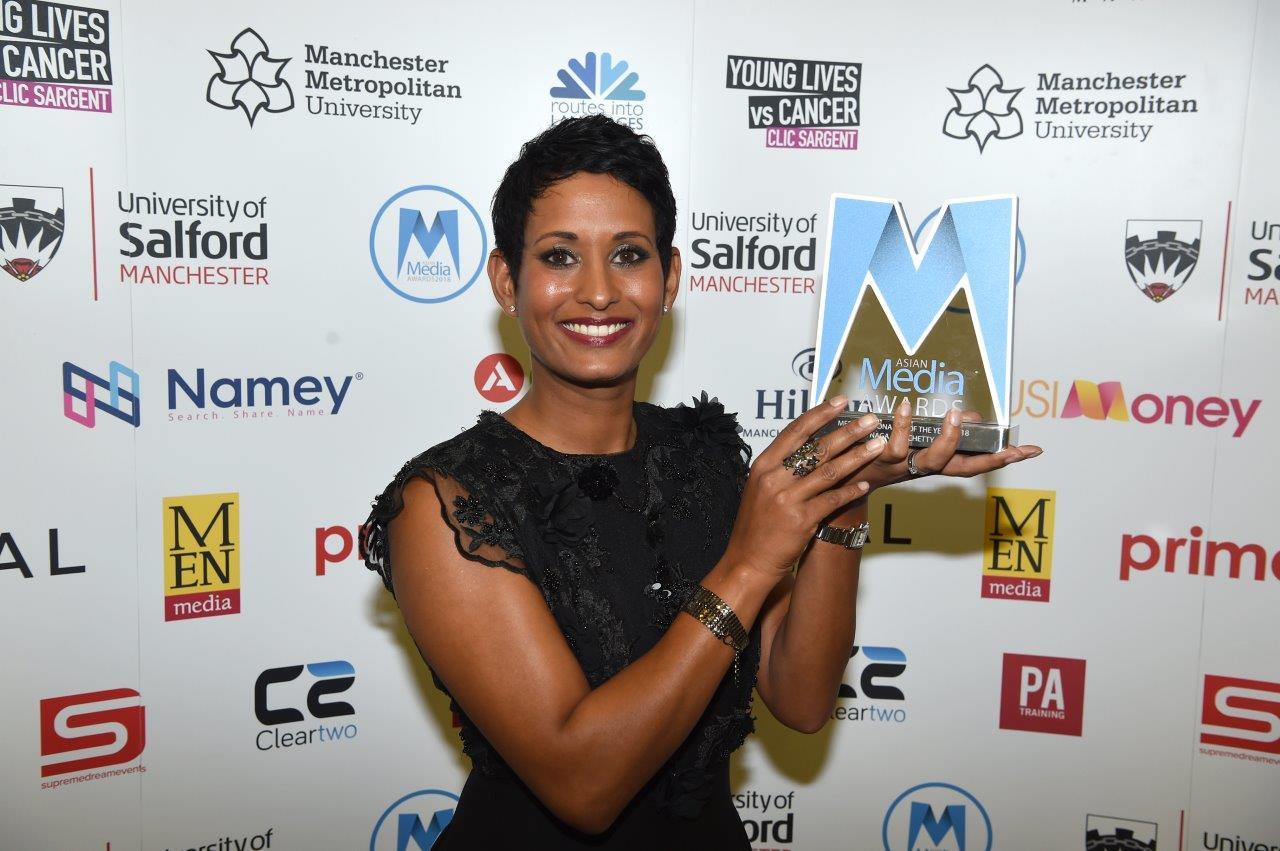 Naga Manchetty Media Personality of the Year