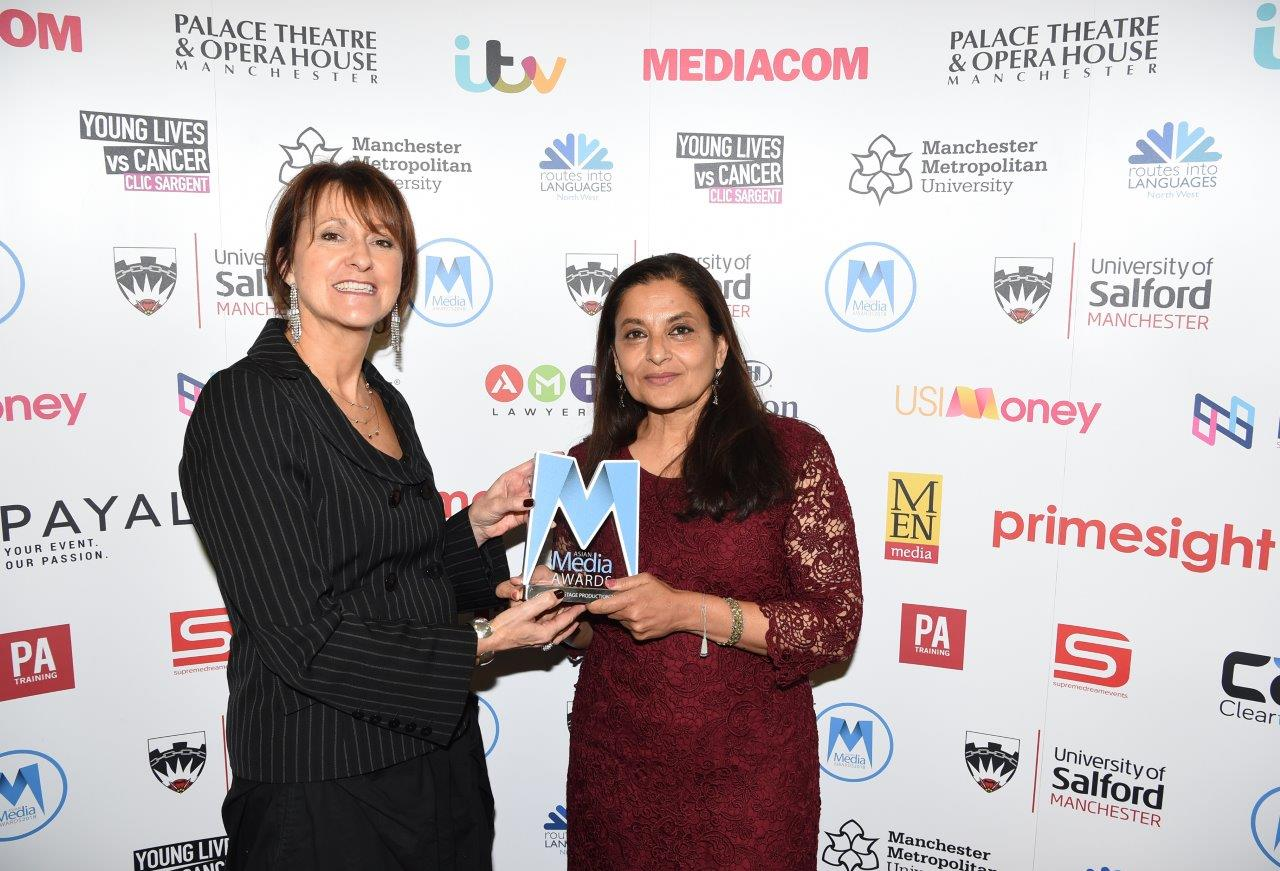 Palace Theatre Directer Sheena Wrigley and Sudha Bhuchar