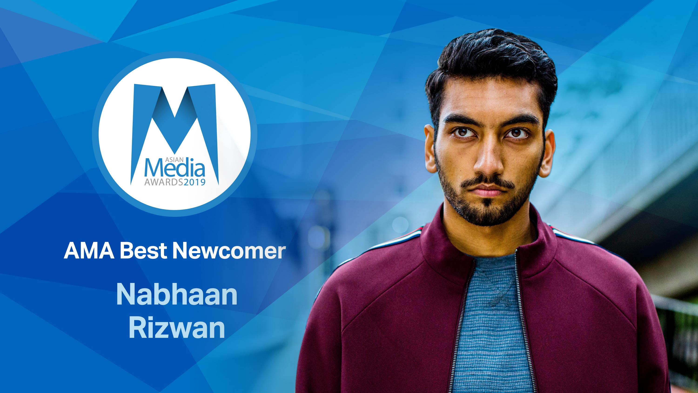 Nabhaan Rizwan is AMA Best Newcomer 2019