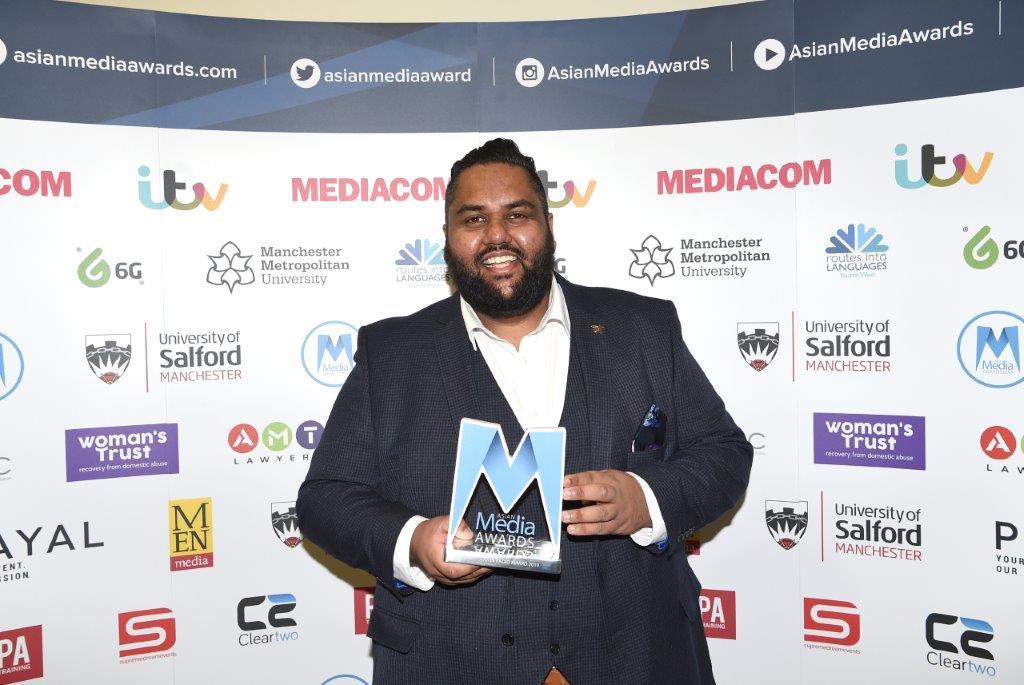 5 Live's Aaron Paul Wins Rising Star In Radio Award