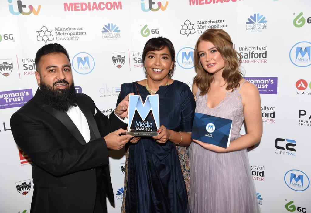 Best TV character Award presentation