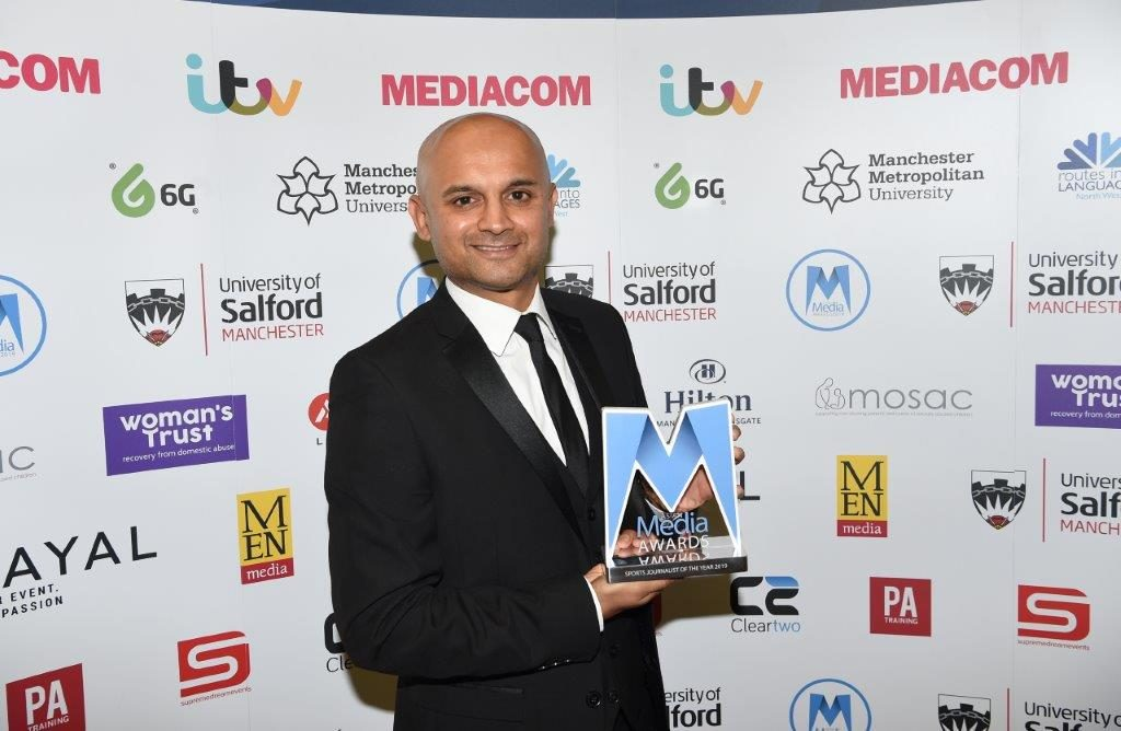 Dharmesh Sheth Is Sports Journalist of the Year 2019