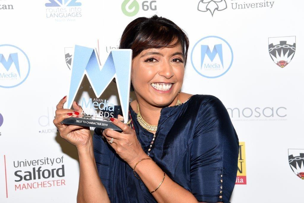 Sunetra Sarker Wins Best TV Character 2019 As Kaneez in Ackley Bridge