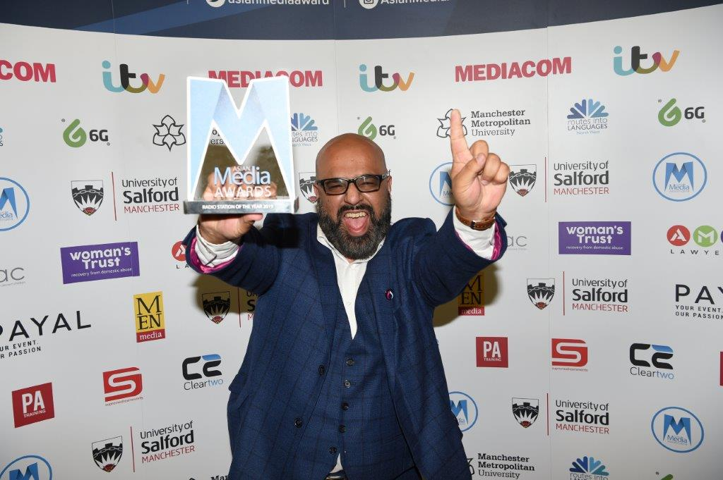 Sunrise Radio Celebrate 30 Years with Win at AMA's