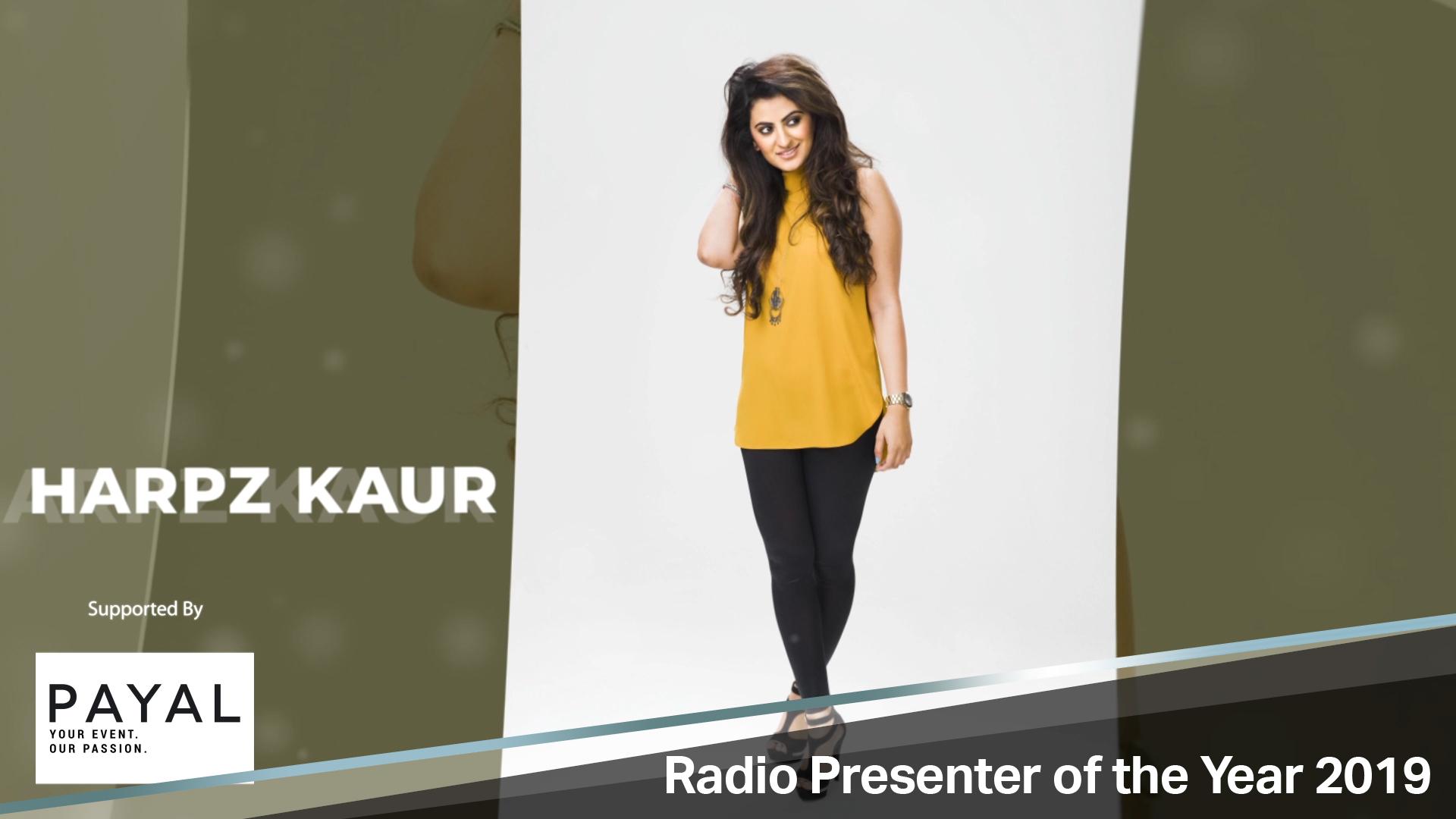 Harpz Kaur Is Radio Presenter of the Year 2019