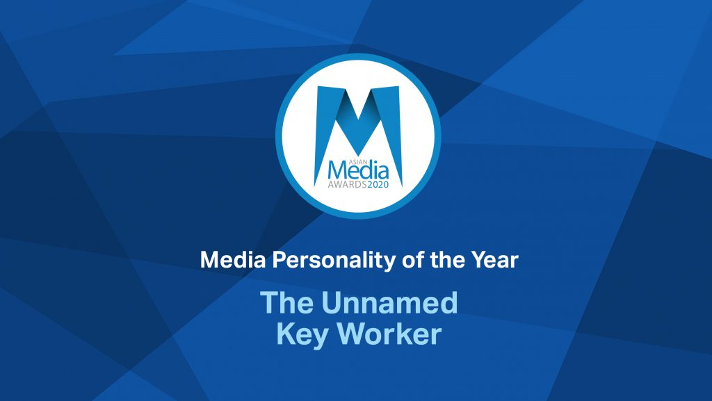 'The Unnamed Key Worker' – Media Personality of the Year 2020