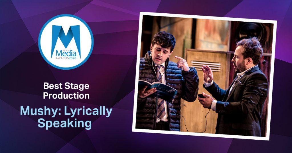 Mushy: Lyrically Speaking Wins Best Stage Production 2020