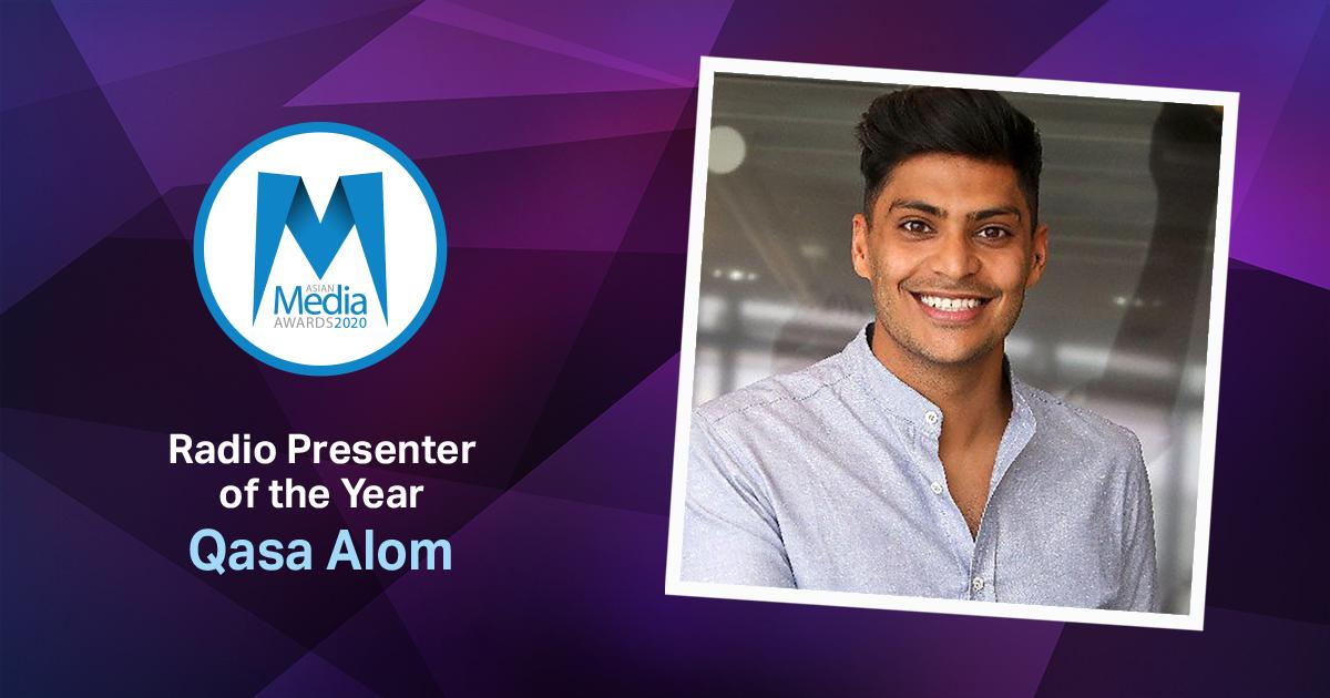 Qasa Alom Named Radio Presenter of the Year 2020
