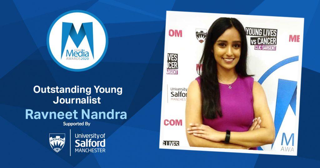 Ravneet Nandra Dedicates Award to Mum