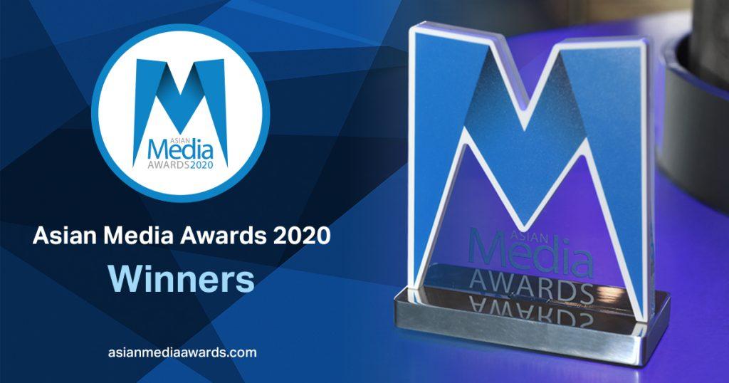 Asian Media Awards 2020 Winners