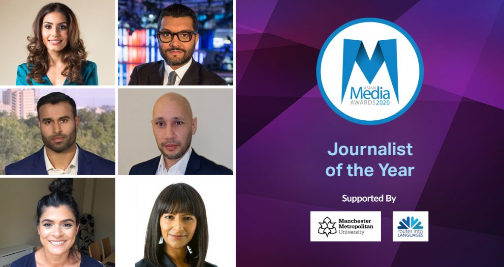 The 2020 Journalist of the Year Finalists