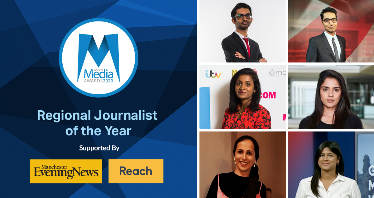 Regional Journalist of the Year 2020 Finalists