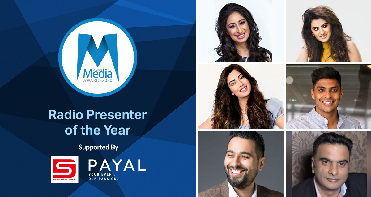 Radio Presenter of the Year 2020 Finalists