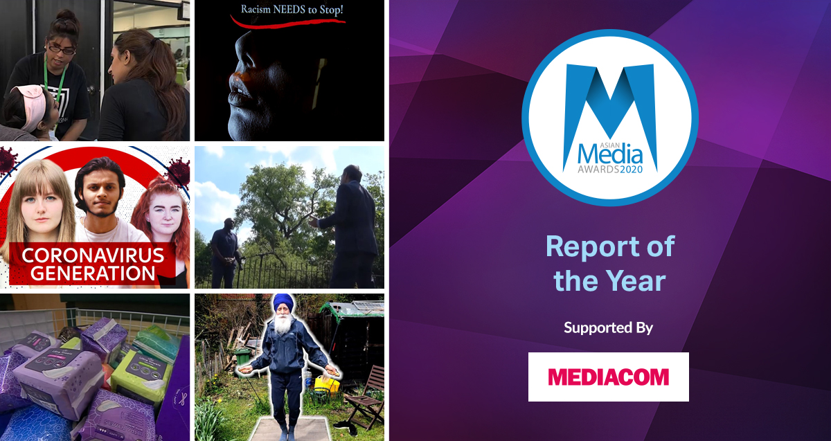 Report of the Year 2020 Finalists
